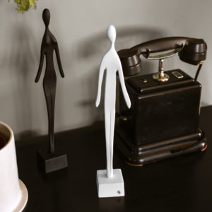 Skulptur kvinna