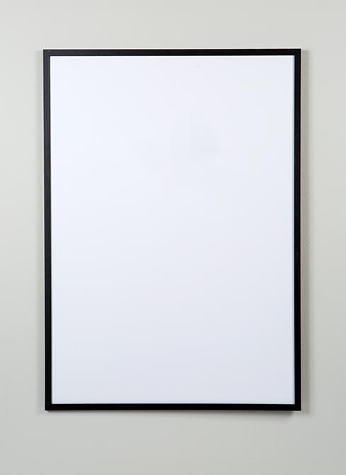 50x70, tavelram i svart trä